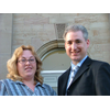 PPC Tania Exley-Moore with Leeds North West MP Greg Mulholland at the Scarborough Conference