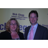 Tania with Lib Dem Leader Nick Clegg